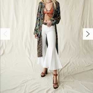 Free People Wild Nights Duster XS